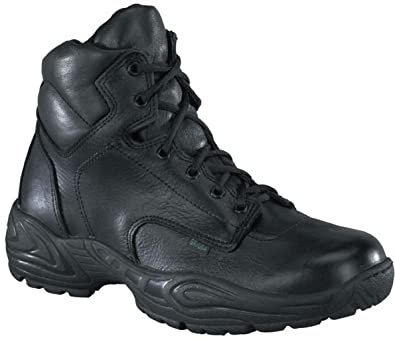 d7ec404181a Reebok Mens Black Leather Work Boots Postal Express 6in Goretex 6 M