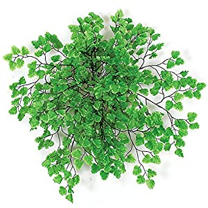 Autograph Foliages P-1610 18 in. Maidenhair Fern Bush, Tutone Green 35
