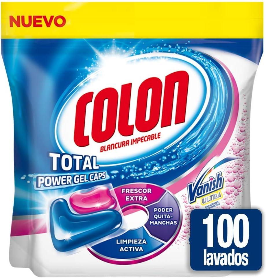 Colon Total Power Gel Caps Vanish - Detergente para lavadora con ...