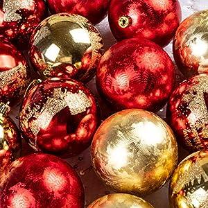 KI Store Christmas Tree Decorations Decorative Ball Ornaments Hanging Decor 9