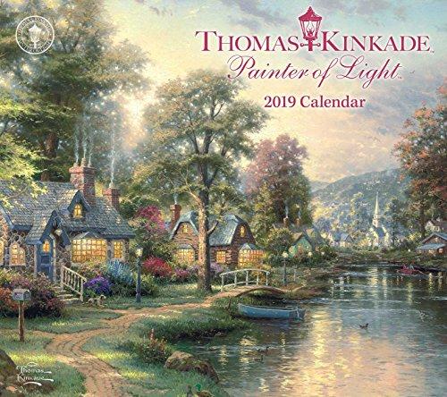 Pdf History Thomas Kinkade Painter of Light 2019 Deluxe Wall Calendar