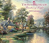 img - for Thomas Kinkade Painter of Light 2019 Deluxe Wall Calendar book / textbook / text book