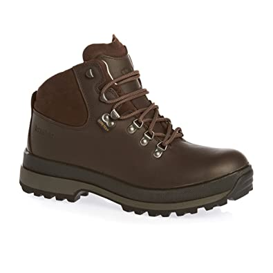 708a8b7dd7e4 Mens Brasher Hillmaster II GoreTex Outdoor Hiking Walking Leather Boots -  Dark Brown  Amazon.co.uk  Shoes   Bags