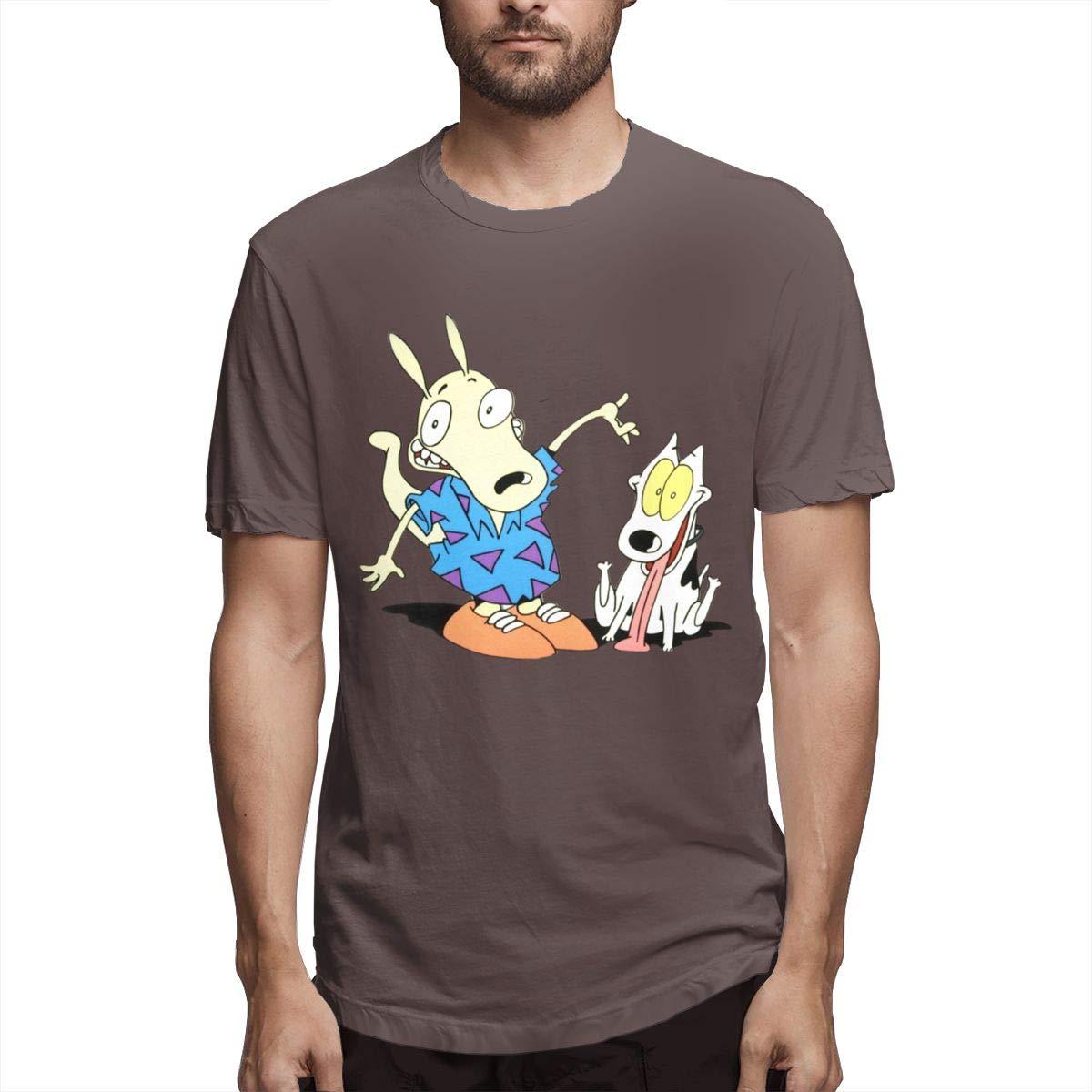 Rocko S Modern Life Crew Neck Short Sleeve Shirts