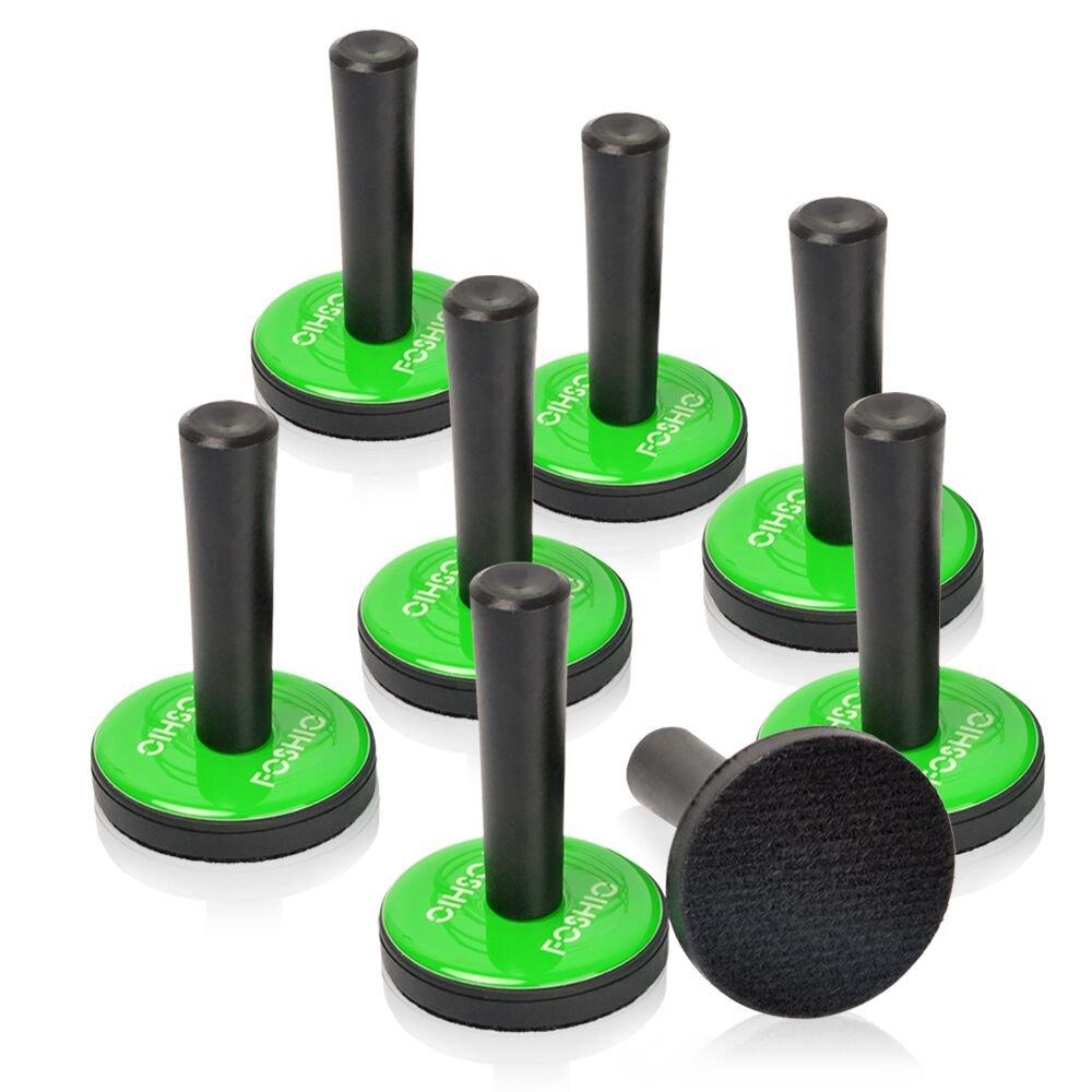 Amazon Com Applicationhelp >> Amazon Com Foshio 8pcs Green Car Vinyl Wrap Gripper Magnet Holder