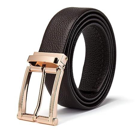 Aclth Cinturón de Cintura con Estilo de los Hombres Cinturón de ...