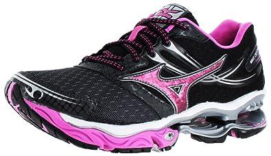 black mizuno running shoes