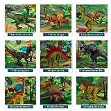 TEMI Dinosaur Toy Figure w/ Activity Play Mat