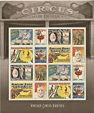 Vintage Circus Posters USPS Forever Stamps Sheet of 16 Postage Stamps 2014