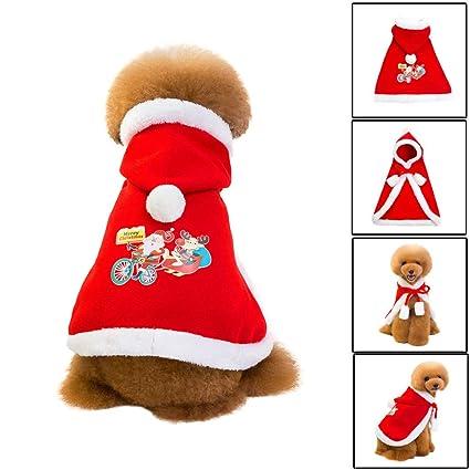 Hpapadks Pet Christmas Cloak Dress,Fashion Pet Clothing Cloak Xmas Pet  Outfits Small Dog Costume - Amazon.com : Hpapadks Pet Christmas Cloak Dress,Fashion Pet
