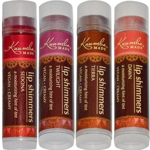 Lip Made Gloss (Kuumba Made Lip Shimmers 4 Pack)