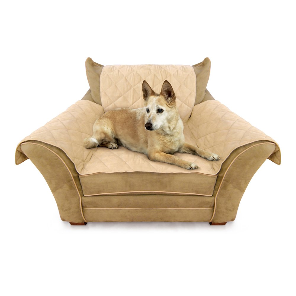 Elegant Amazon.com: Ku0026H Thermo Heated Furniture Cover For Chair, Tan: Pet Supplies