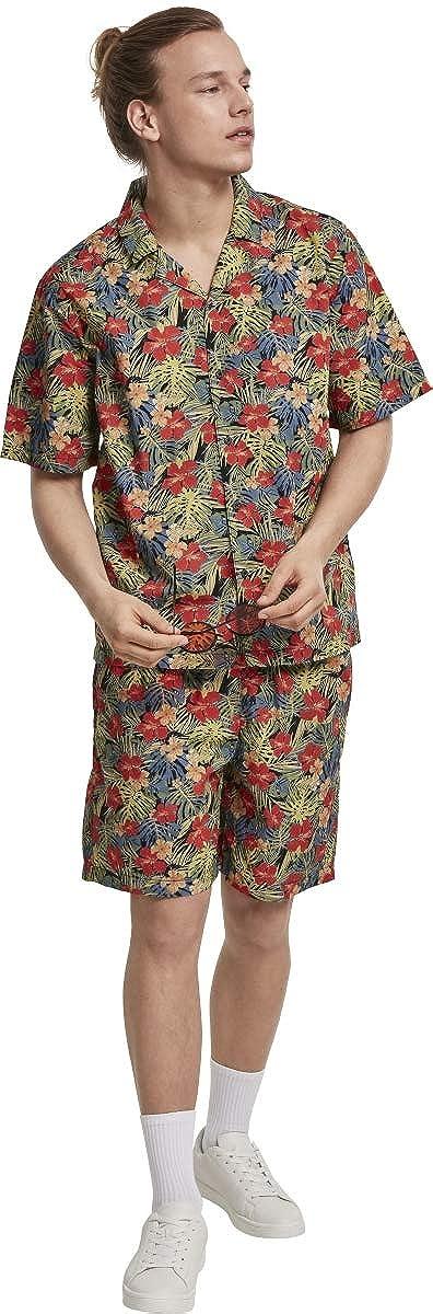 Urban Classics Pattern Resort Shorts Costume da Bagno Uomo