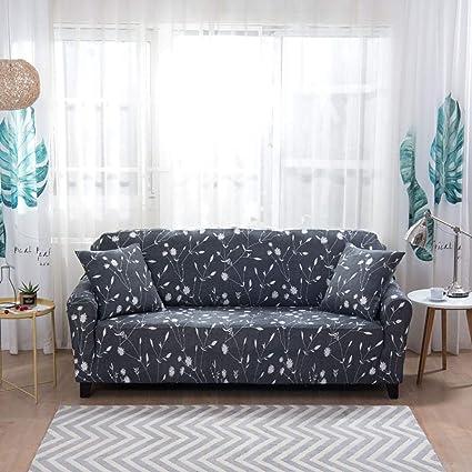 MissHome Funda de sofá 1 2 3 4 Plazas - Funda Protectora elástico - Sofá Proteger Antideslizante - Cubre sofá