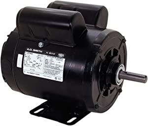A.O. Smith CP1152L 1-1/2 HP, 3600 RPM, 115/230 Volts, Service Factor, Reversible Rotation, 5/8-Inch x 1-7/8-Inch Keyed Shaft Compressor Motor