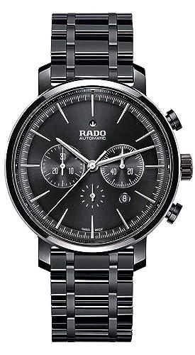 Rado Diamaster New Reloj de Hombre automático 45mm dial Negro R14075182: Amazon.es: Relojes