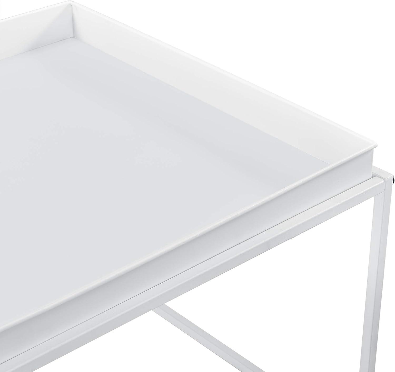 2x Beistelltisch Couchtisch Sofatisch Set Tabletttisch Servier Tisch en.casa