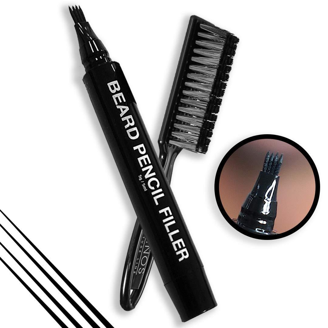 How to darken facial hair? - Beard Pencil