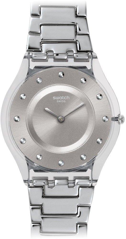Swatch Skin Quartz Movement Silver Dial Ladies Watch SFK393G by Swatch
