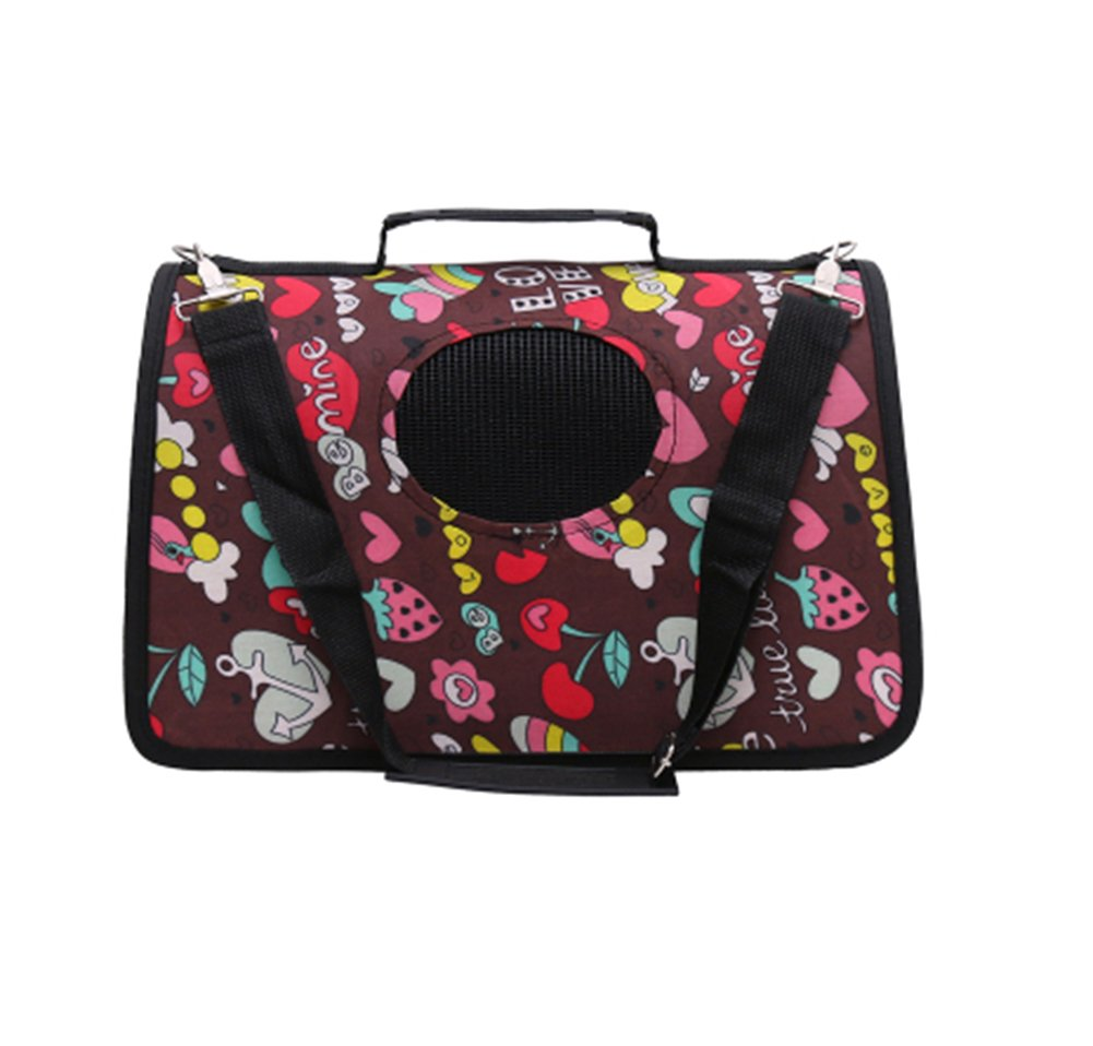 Pet Carrier Soft Sided Travel Bag for Small Dogs & Cats- Airline Approved  34