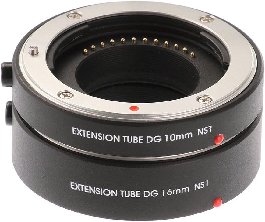 Ruili Metal AF Automatic Macro Extension Tubes 10mm 16mm Set DG for Samsung NX NX1 NX5 NX10 NX20 NX30 NX11 NX100 NX200 NX210 NX300 NX300M NX1000 NX1100 NX2000 NX3000 NX3300 Galaxy camera Extreme Clos