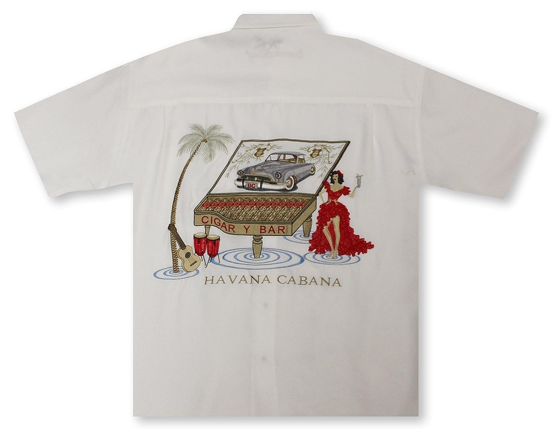 dd765d01 Bamboo Cay Havana Cabana - Off White Hawaiian Shirt at Amazon Men's  Clothing store:
