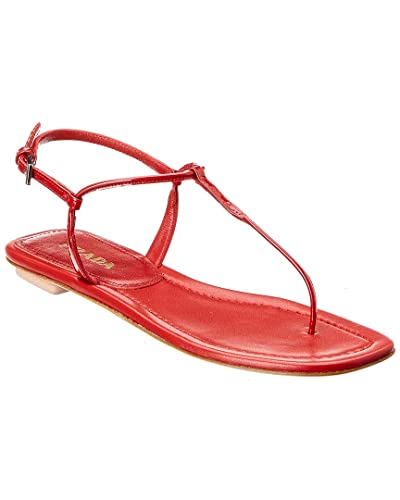 8b565f7ef Image Unavailable. Image not available for. Color  Prada Patent Thong Sandal  ...