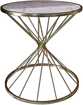 Xwzjy Simple Coffee Tableround Accent Table With Metal