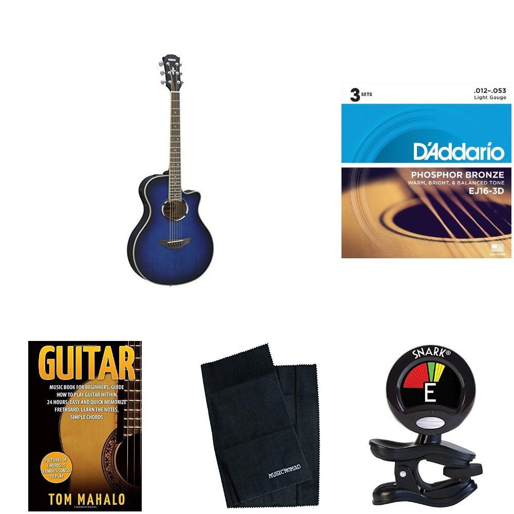 Amazon Yamaha Apx500iii Thinline Cutaway Acoustic Electric