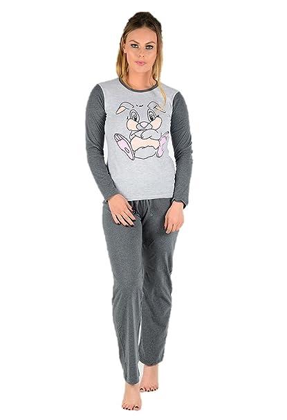 Snoopy - Pijama - para Mujer Grey Bunny S