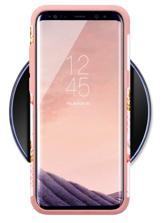 Amazon.com: Fingic - Carcasa rígida para Samsung Galaxy S8 ...