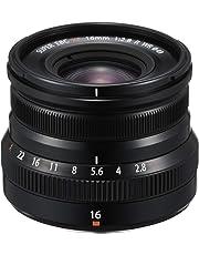 Fujinon XF16mmF2.8 R WR - Lente, Color Negro