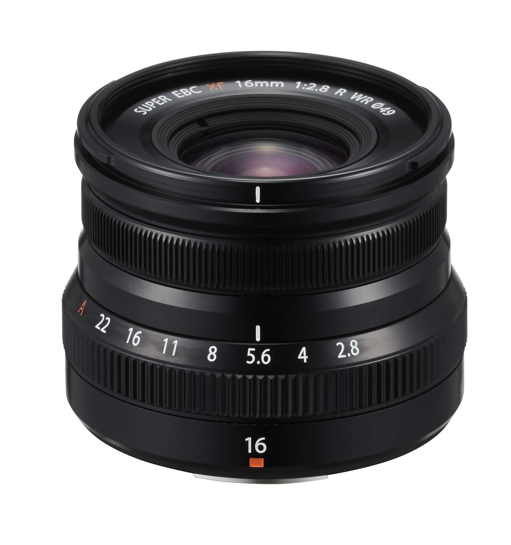 Fujinon XF16mmF2.8 R WR Lens - Black by Fujifilm