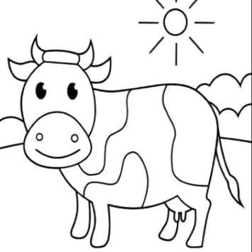 Amazon.com: Best Cow Coloring Pages Book for Kids: Appstore ...
