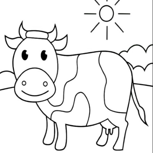 Amazon Com Best Cow Coloring Pages Book For Kids Appstore For Android