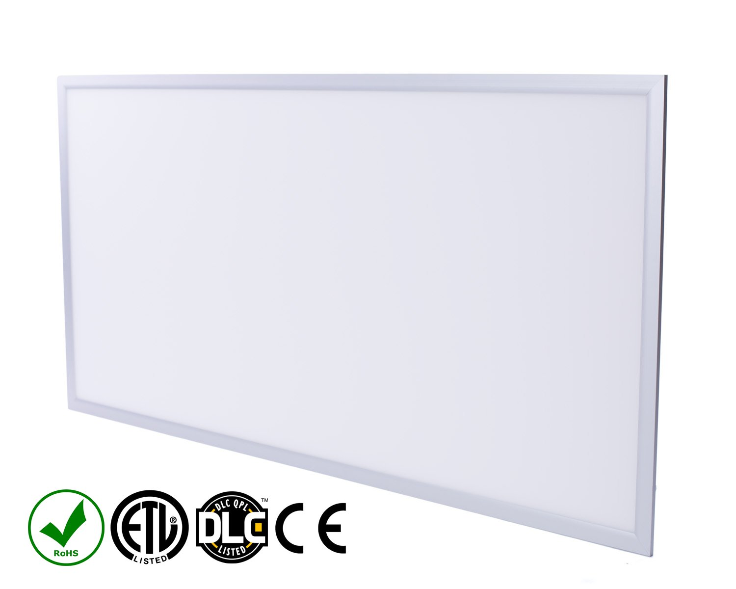 Fovitec StudioPRO Office Industrial Home Energy Saving LED Light Panel Fixture Ultra Thin Bright 5000K 55W - 2 x 4 feet
