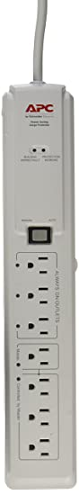 Review APC 7-Outlet Surge Protector