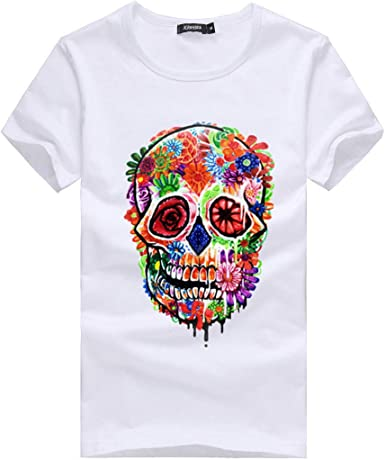 ACEBABY Camisetas Manga Corta Camisetas Estampadas Hombre y Mujer ...