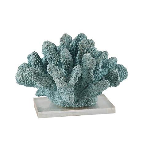 JYSPT Adorno de coral de resina de gran tamaño para decoración de acuario, acuario,