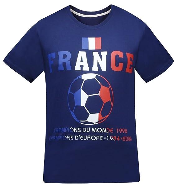 Camisetas de Fans francesas de Francia de los Hombres: Amazon.es: Ropa y accesorios