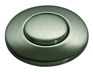 Insinkerator STC-SN SinkTop Button, Satin Nickel