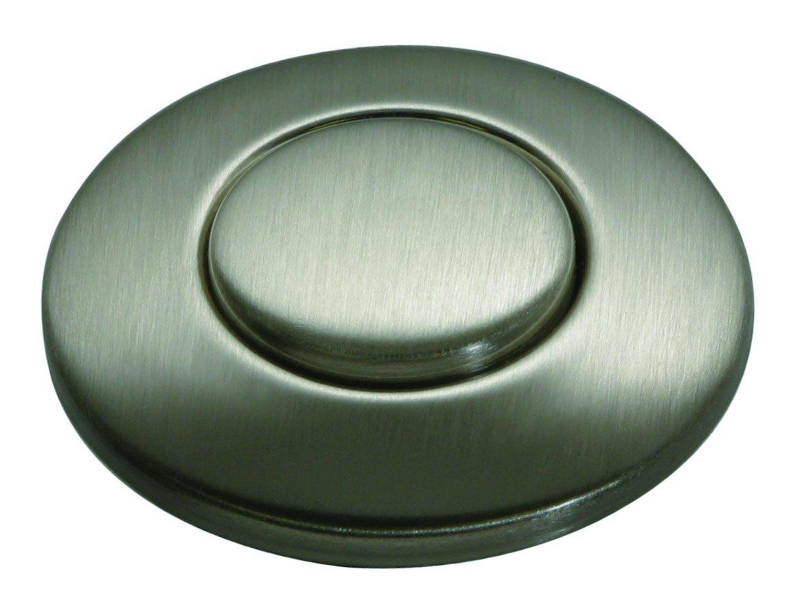 Insinkerator STC-SN Sink Top Button, Satin Nickel