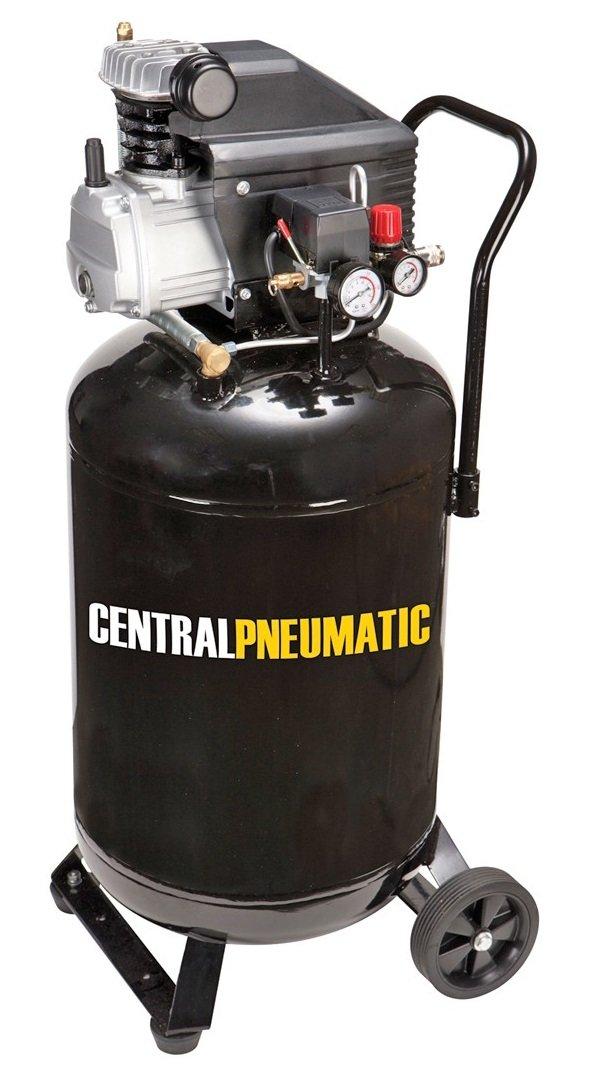 Central Pneumatic 2.5 Horsepower, 21 Gallon, 125 PSI Cast Iron Vertical on