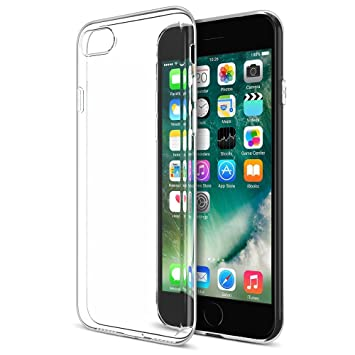 online retailer 87449 b512b Apple iPhone 7 Plus Clear Gel Case - Stylish Ultra Thin Crystal Clear Soft  Silicone Gel Case + Free Screen Protector & Cleaning Cloth (Apple iPhone 7  ...