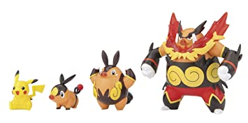 Amazon.com: Pokemon Evolution Series Pro Model Tepig - Chaoboo ...