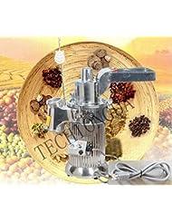 TECHTONGDA Electric Hammer Mill Herb Grain Grinder Pulverizer Powder Grinding Machine 170139