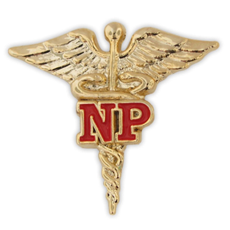Amazon pinmarts nurse practitioner red np gold caduceus amazon pinmarts nurse practitioner red np gold caduceus lapel pin brooches and pins jewelry biocorpaavc
