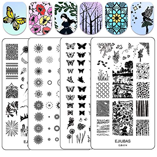 8 best valentines day nail stamping plates layered for 2019