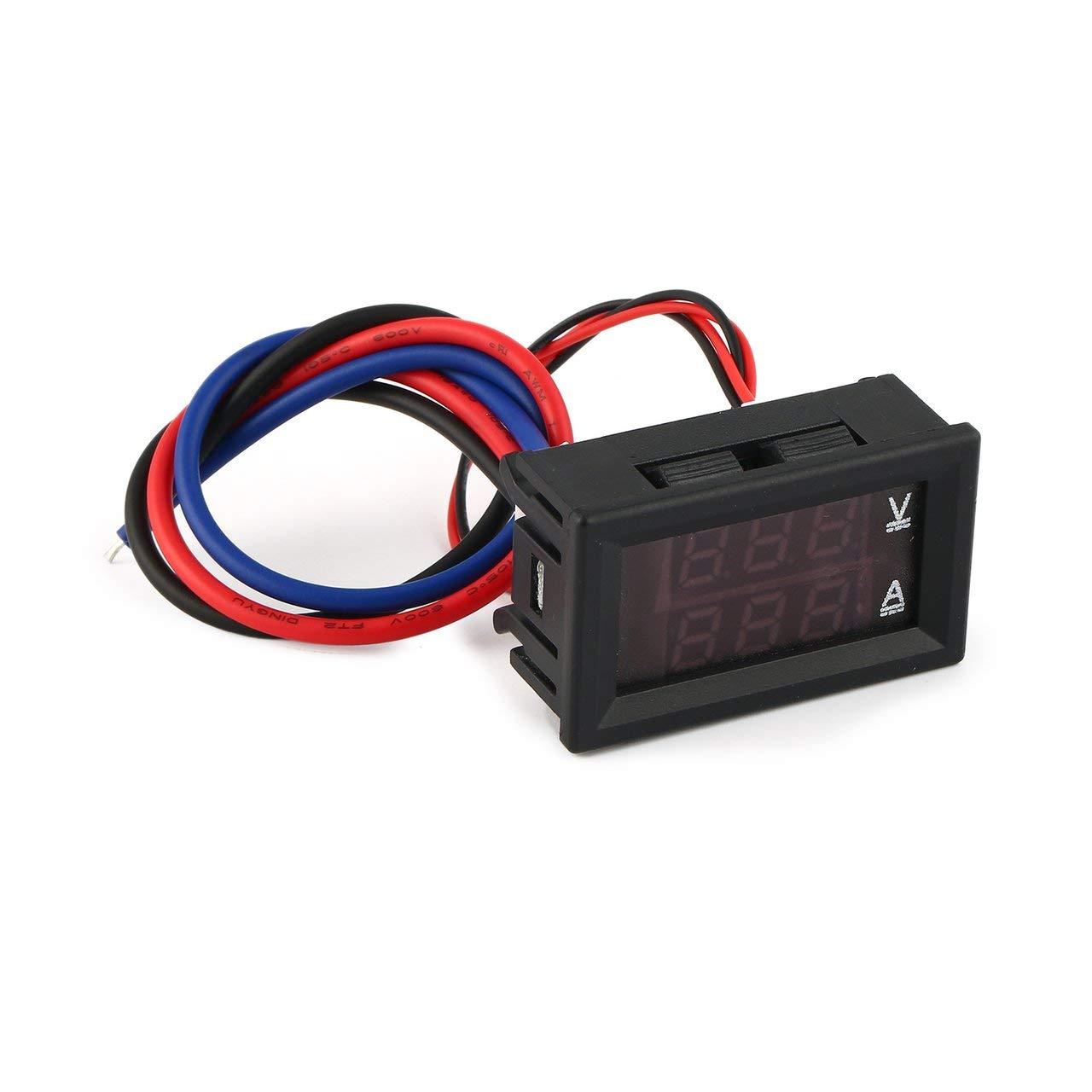 Jasnyfall 100v 10a A Men Le M Tre De Tension Actuel Voltm How To Test Electrical Circuits Une Voiture