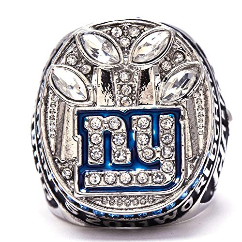 Super Bowl 1966 - 2019 Replica Championship Ring (Size 11) New England Patriots Philadelphia Eagles Denver Broncos Chicago Bears Seattle Seahawks Green Bay Packers (Size 9, 2011 New York Giants)